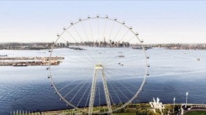 "A artist's rendering of ""The New York Wheel"""